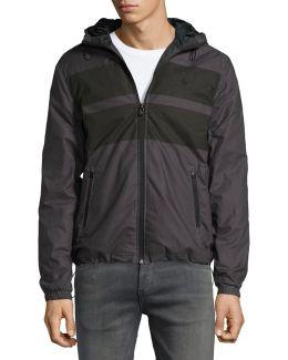 Printed Wind-resistant Jacket