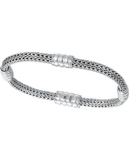 Bedeg Silver Extra Small Four-station Bracelet