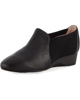 Feo Leather Comfort Flat