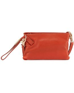 Cache Leather Cross-Body Bag