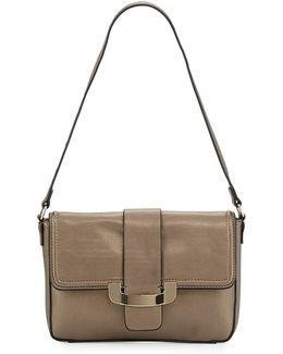 Ellen Faux-leather Clutch Bag