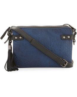 Camden Crossbody Bag With Suede Tassel