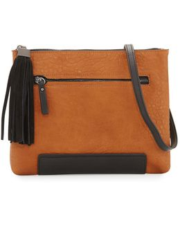 Camden Faux-leather Clutch Bag