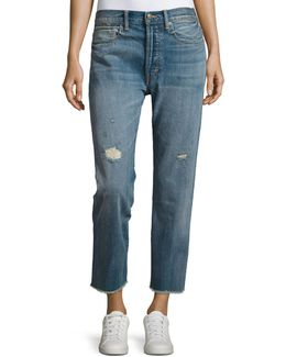 Union Distressed Slouchy Jeans