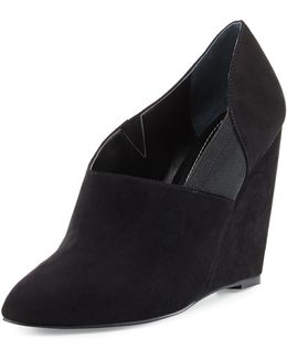 Illy Wedge Microsuede® Bootie