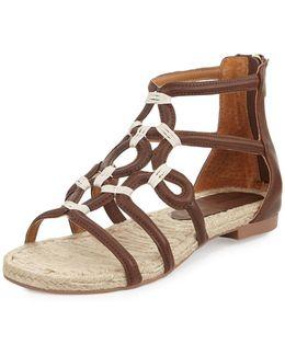 Picabo Leather Gladiator Sandal