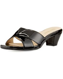 Obert Patent Leather Sandal