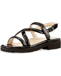 Taylor Patent Strappy Sandal