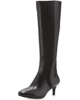 Fiore Leather Knee Boot