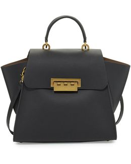 Eartha Iconic Leather Satchel
