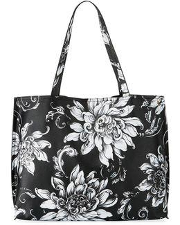 Jules Floral Tote Bag