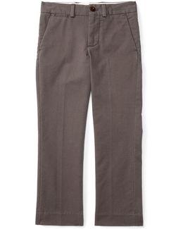 Straight-leg Stretch Chino Pants