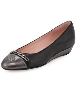 Paola Leather Comfort Flat