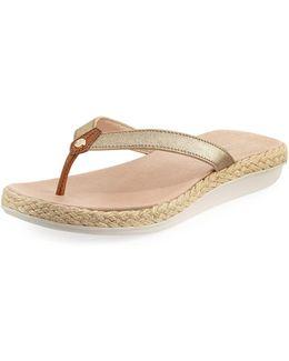 Illoana Lightweight Flat Thong Sandal
