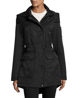 Cloud Quilted Anorak Jacket