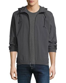 Rogers Crinkle-shell Hooded Jacket