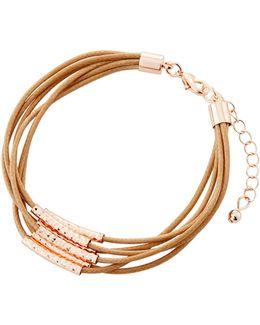 Multi-row Cord Bracelet
