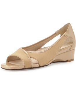 Klouse Open-toe Demi-wedge Sandal