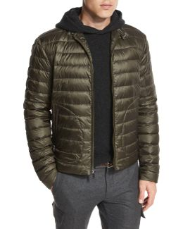 Roland Quilted Down Jacket