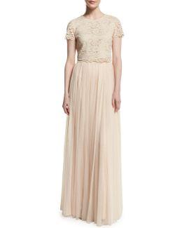 Amelia Short Sleeve Top & Skirt Set