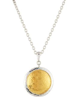 Amulet Round Pendant Necklace