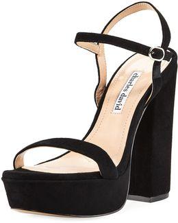 Regal Leather Platform Sandal