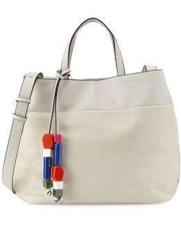 Ace Bead Tassel Tote Bag
