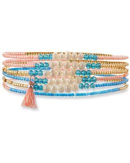 Pearl Beaded Stretch Bracelets