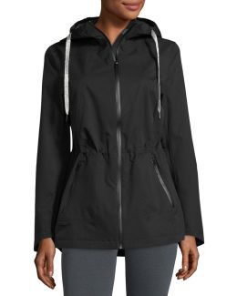 Hooded Zip-front Performance Jacket