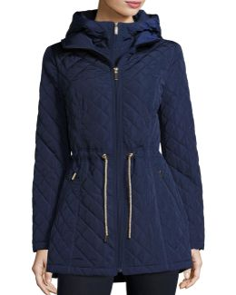 Mini-quilted Wind-resistant Jacket