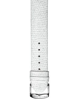 20mm Embossed Leather Watch Strap