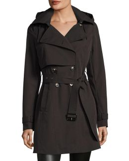 Taylor Tech-cotton Trench Coat