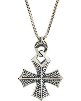 Men's Rayman Templar Cross Pendant Necklace