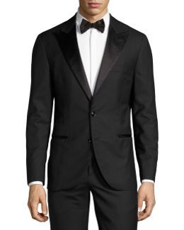 Notch-lapel Two-piece Tuxedo Suit