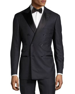 Double-breasted Tuxedo Suit