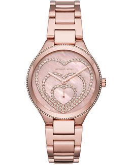 36mm Lainey Round Glitz Bracelet Watch