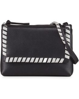Callie Whipstitch Crossbody Bag