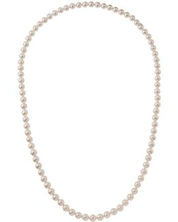 10mm Endless Simulated Pearl Necklace