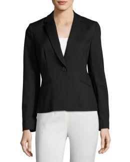 Double-face One-button Jacket