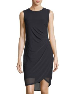 Esme Side-ruched Dress