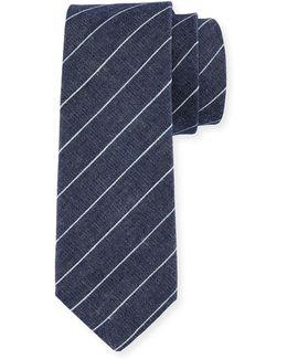 Prairie Striped Cotton Tie
