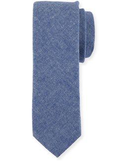 Lolita Solid Cotton-blend Tie