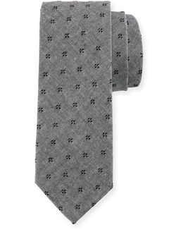 Cucina Floral-print Neat Tie