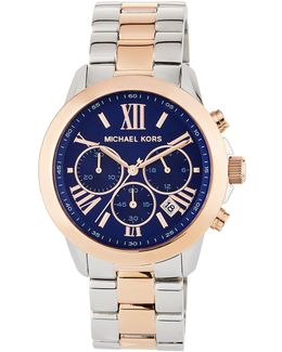 Jet Set 40mm Two-tone Chronograph Bracelet Watch