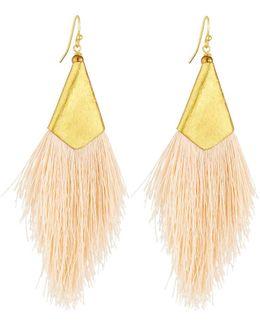Statement Thread Drop Earrings