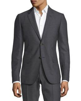 Monaco Pattern Wool Two-piece Suit