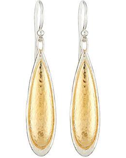 Amulet Elongated Teardrop Earrings