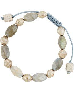 Labradorite & Copper Beaded Bracelet