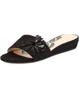 Catherine Floral Slide Sandal