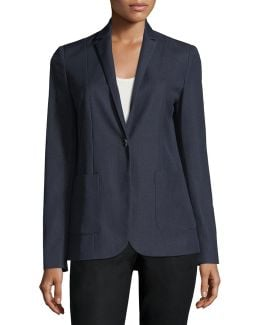 One-button Suiting Jacket